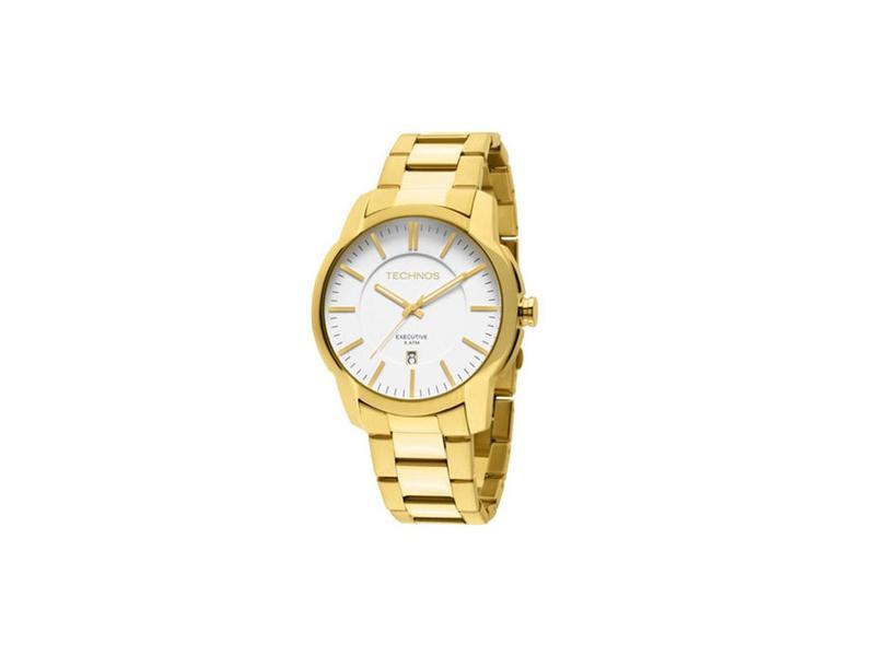 Relógio Technos Analógico Masculino Dourado 2115TN4K - Relógios ... 37ad92c82a